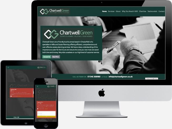Chartwell Green pay monthly website