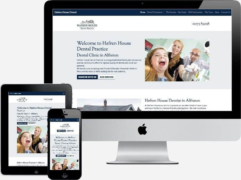 Hafren House Dental Website Alfreton