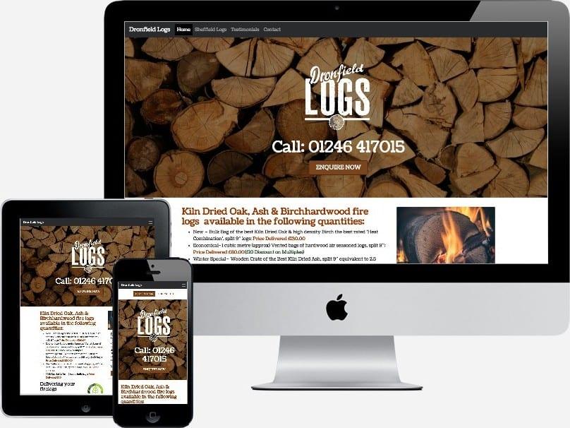 Dronfield Logs Website