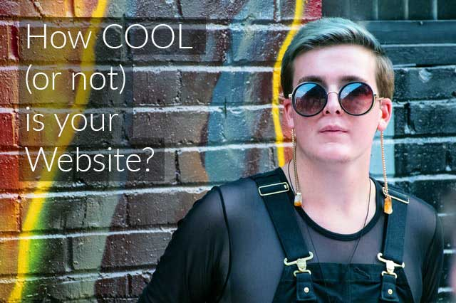 How cool (or not) is your website?