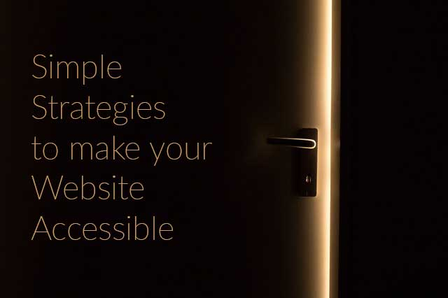5 Ways to make your website accessible